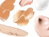 Fluid- Cream Foundation Texturen
