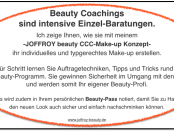 Beauty Coachings nach dem exklusiven C.C.C. Make-up Konzept