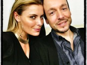 Backstage mit Sophia Thomalla
