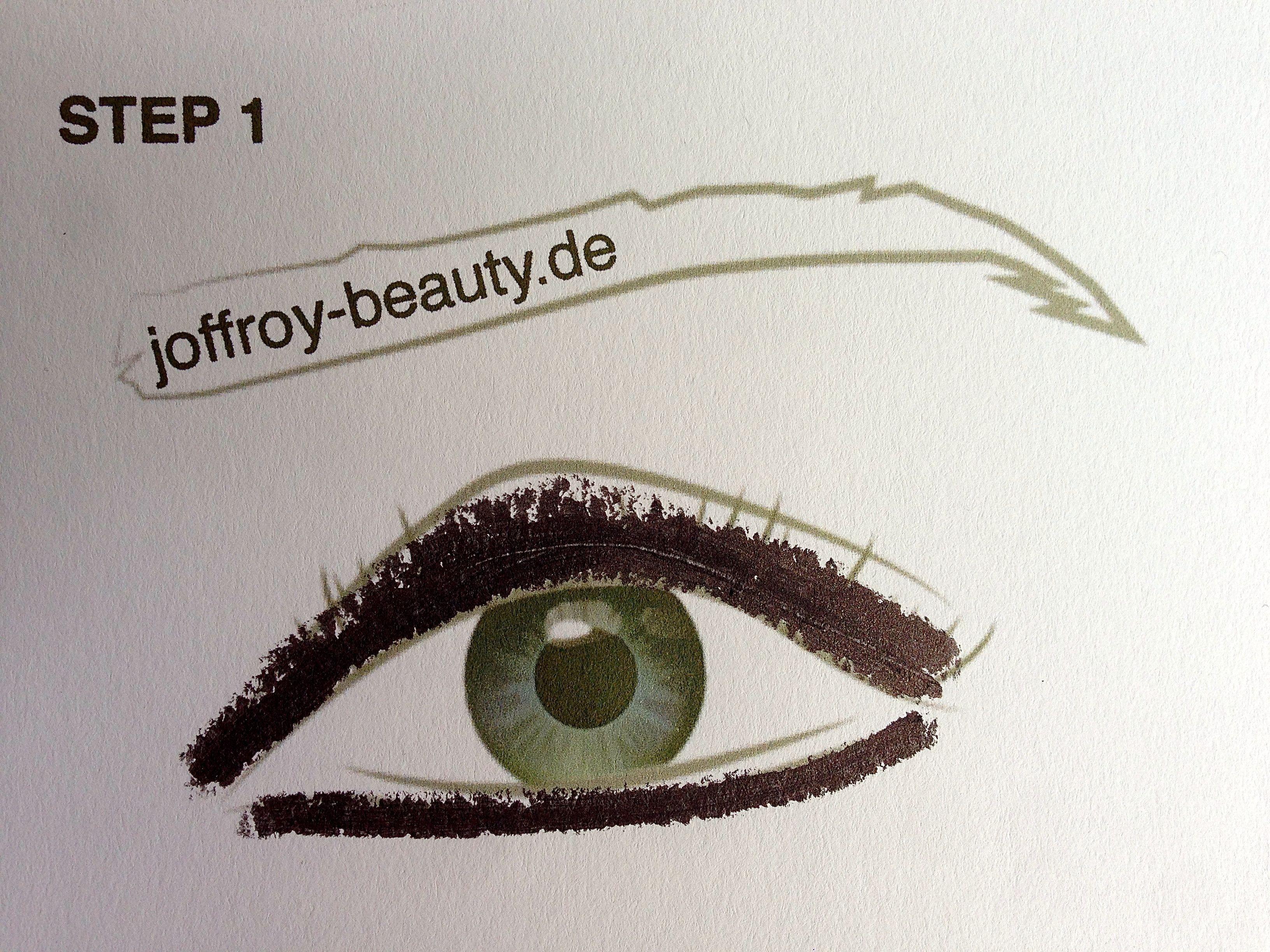 Smokey Eyes - Step 1 - joffroy-beauty.de