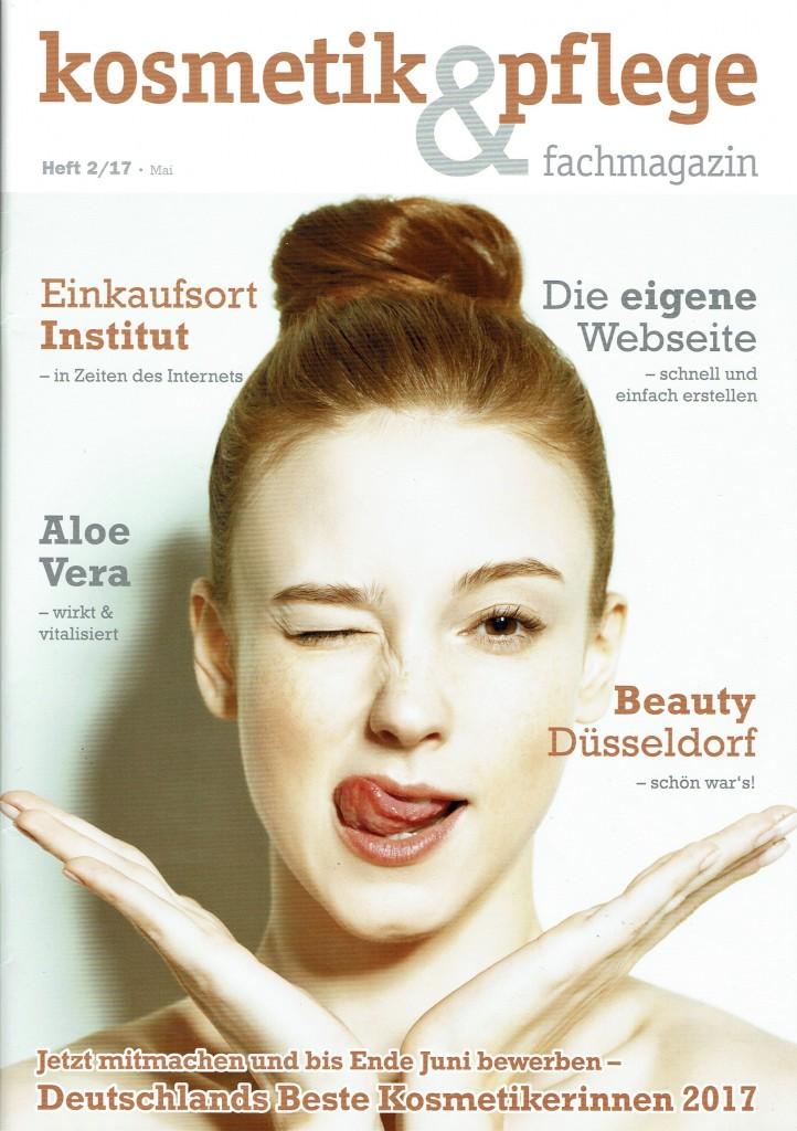 "Fachartikel ""Ran an die Bräute"" in Kosmetik & Pflege.Mai 2017 Heft 2"
