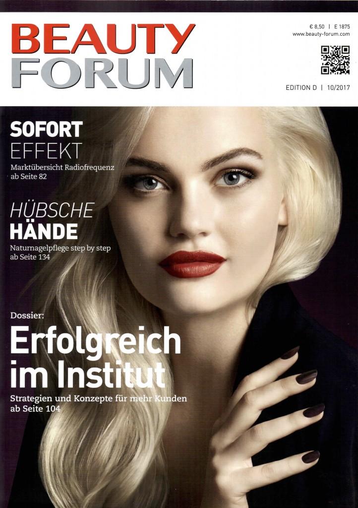 Beauty Forum 10:2017- S. 166:167