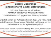 Beauty Coachings nach dem exklusiven C.C.C. Make-up Konzept